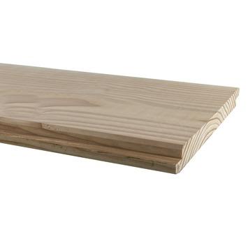 Planche à clins rabotée Douglas 1,8x19,5x300 cm