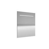 Miroir avec éclairage LED Deli Allibert 60x70 cm aluminium