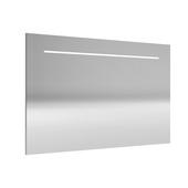 Miroir avec éclairage LED Deli Allibert 140x70 cm aluminium