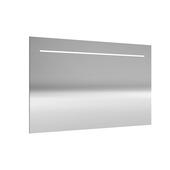 Miroir avec éclairage LED Deli Allibert 120x70 cm aluminium