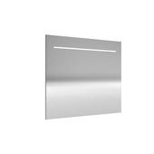 Miroir avec éclairage LED Deli Allibert 80x70 cm aluminium