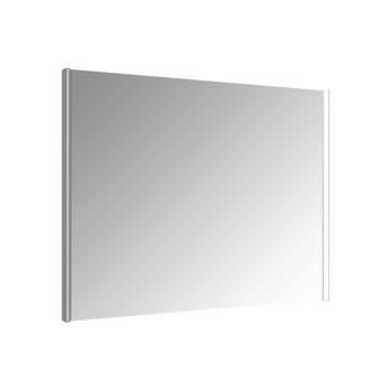 Allibert Ikari spiegel met LED 100x70 cm aluminium kader