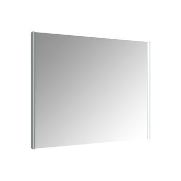 Miroir avec éclairage LED Ikari Allibert 90x70 cm aluminium