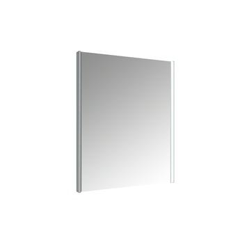 Miroir avec éclairage LED Ikari Allibert 60x70 cm aluminium