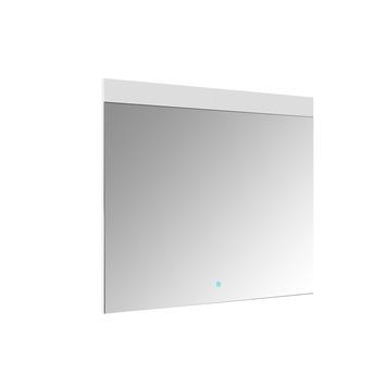 Allibert Touch spiegel met LED 80x70 cm aluminium kader