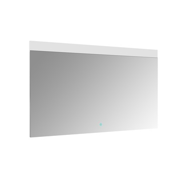 Allibert Touch spiegel met LED 120x70 cm aluminium kader