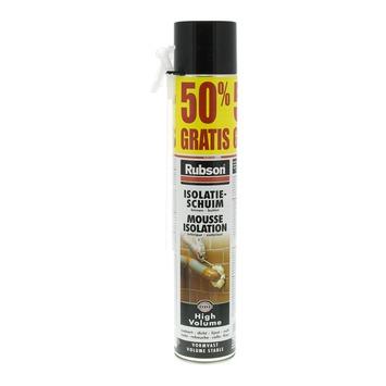 Mousse d'isolation Rubson 50% gratuits 750 ml