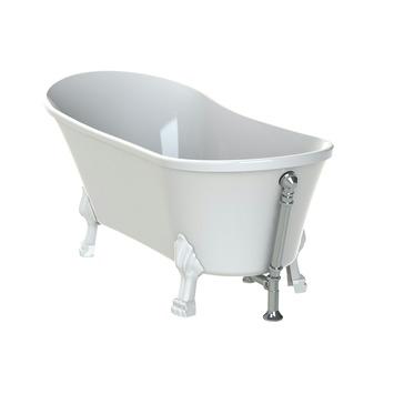 Super Allibert Felina bad vrijstaand 170x80 cm met witte poten | baden UI92