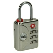 Yale TSA cijferhangslot 32 mm met code