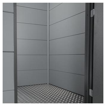 Binnenwand voor tuinhuis Eleganto 2,1x2,1 m grijs