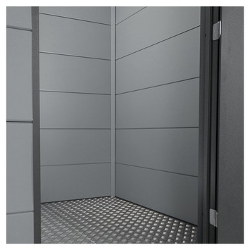 Binnenwand voor tuinhuis Eleganto 2,4x2,4 m grijs