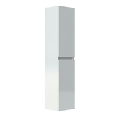 Armoire colonne 2 portes Livo Allibert 40 cm blanc brillant