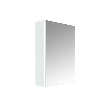 Armoire de toilette 1 porte Stella Allibert 50 cm blanc brillant