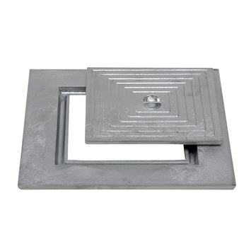 Couvercle puisard simple 50x50cm aluminium