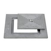 Couvercle puisard simple 60x60cm aluminium