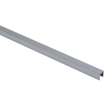 Essentials U-profiel 10x10x1,25 mm 2000 mm aluminium brut