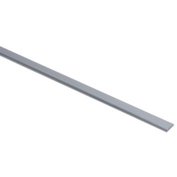 Profilé de finition en aluminium Essentials 19x4 mm 100 cm brut