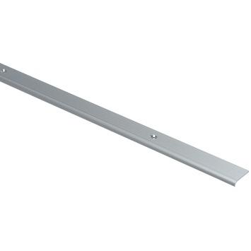 Essentials trapneus 25x5 mm 1000 mm aluminium zilver