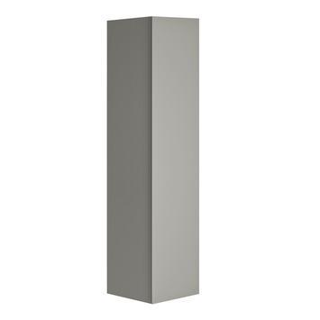 Allibert Nordik kolomkast 40 cm met 1 deur grijs mat