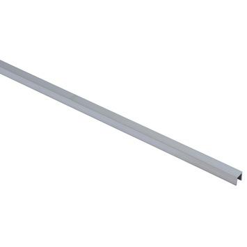 Essentials U-profiel 10x10x1,25 mm 1000 mm aluminium brut