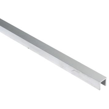 Essentials U-profiel 15x15x15x2 mm 1000 mm aluminium brut