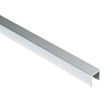 Essentials U-profiel 20x20x20x2 mm 1000 mm aluminium brut