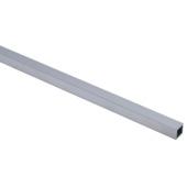 Tube carré en aluminium Essentials 15x1,5 mm 100 cm brut