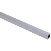 Tube carré en aluminium Essentials 20x20x1,5 mm 100 cm brut