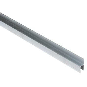 Essentials stoeltjesprofiel 26x8x1,5 mm 1000 mm aluminium brut