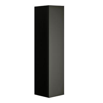 Allibert Nordik kolomkast 40 cm met 1 deur zwart mat
