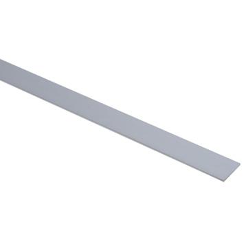 Essentials plat profiel 30x3 mm 1000 mm aluminium