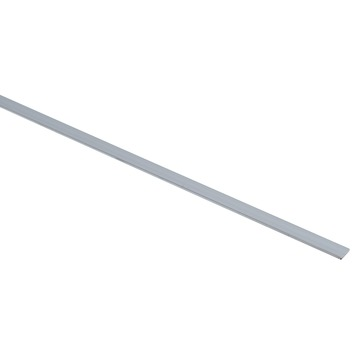 Essentials plat profiel 10x2 mm 2000 mm aluminium brut
