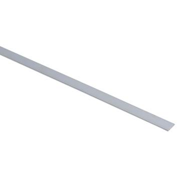 Essentials plat profiel 15x2 mm 2000 mm aluminium brut