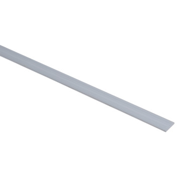 Essentials plat profiel 20x2 mm 2000 mm aluminium brut