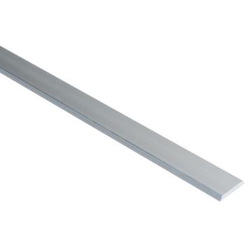 Essentials afdekprofiel 25x4 mm 1000 mm aluminium brut