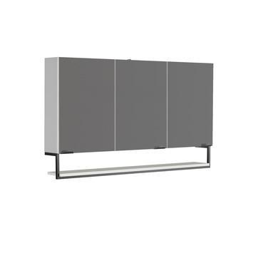 Allibert Faktory armoire de toilette 120 cm 3 portes blanc