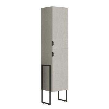 Allibert Faktory kolomkast 40 cm met 2 deuren betonlook