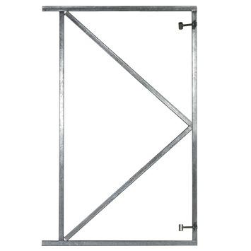 Stalen poort frame 100x155cm
