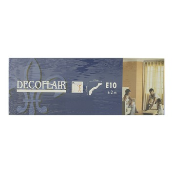 Profilé décoratif Decoflair eps 2m 75 x 75 mm blanc