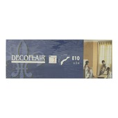 Profilé décoratif Decoflair eps 2m 75 x 75 mm blanc