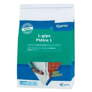 Gyproc kleefgips L-gips 25 kg