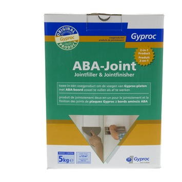 Gyproc ABA-Joint voegproduct 2 in 1 wit 5 kg