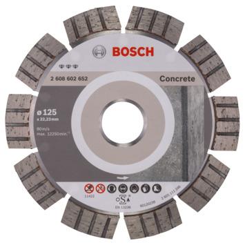 Bosch Professional diamantzaagblad 125 mm beton