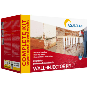 Injection murale Aquaplan kit complet