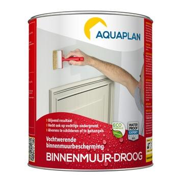 Aquaplan vochtwering binnenmuur droog 0,75 l