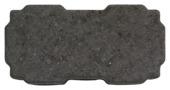Betonklinker zwart waterdoorlaatbaar 22x11x8 cm