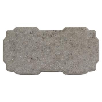 Klinker Beton Grijs Waterdoorlatend 22x11x8 cm - 352 Klinkers / 8,45 m2