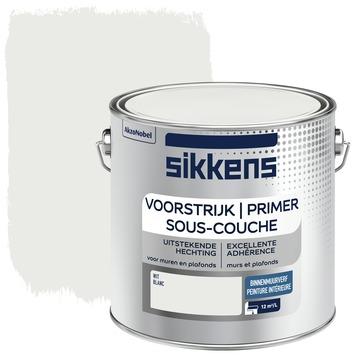 Primer mur intérieur blanc Sikkens 2,5 litres