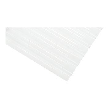 Panneau ondulé Kristal 32/9 98 x 153 cm translucide