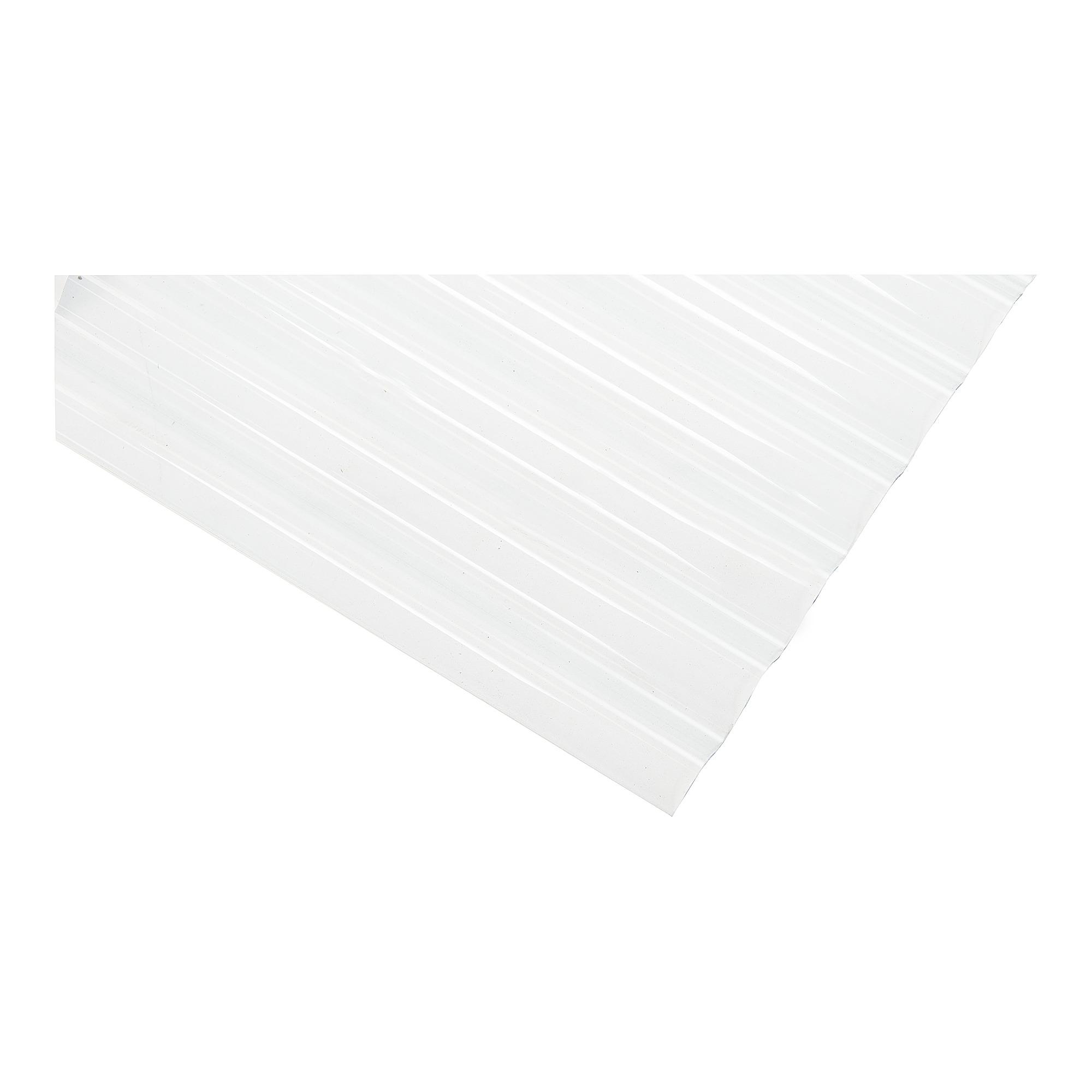 panneau ondul kristal 32 9 98 x 153 cm translucide. Black Bedroom Furniture Sets. Home Design Ideas